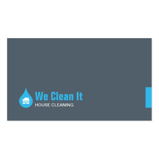 House Cleaning Business Card