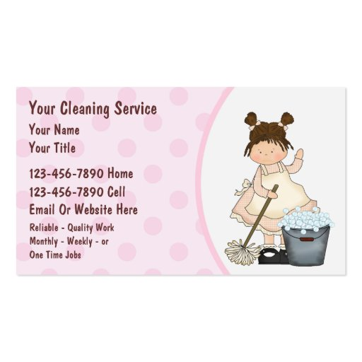House Cleaning House Cleaning Free For Business Cards