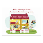 House Cleaning Large Business Cards (Pack Of 100)