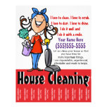 House Cleaning Marketing flyer