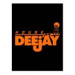 House Deejay Postcard