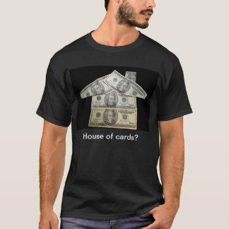House dollars black tee