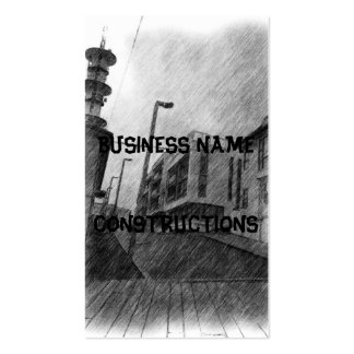 House drawing pack of standard business cards