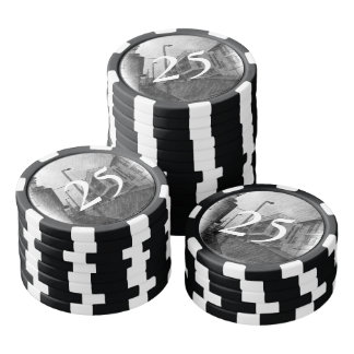 House drawing poker chips
