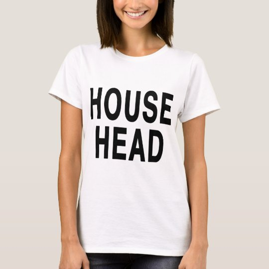 HOUSE HEAD design T-Shirt