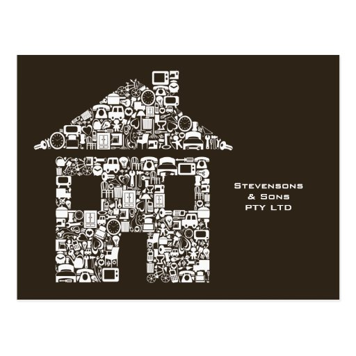 House Home Business Promotional Marketing Card Postcard