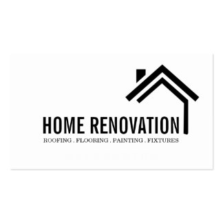 House Home Remodeling Renovation Construction Pack Of Standard Business Cards