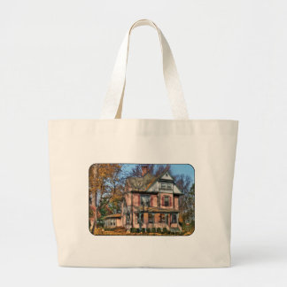 House - I want that Big Pink House Canvas Bags