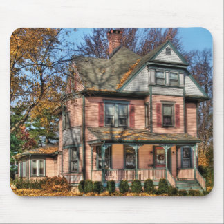 House - I want that Big Pink House Mouse Mat