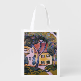 House in a Landscape Reusable Grocery Bag