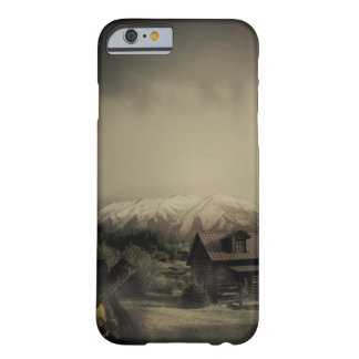 house in forest barely there iPhone 6 case