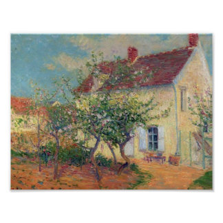 House in the Country by Gustave Loiseau Posters