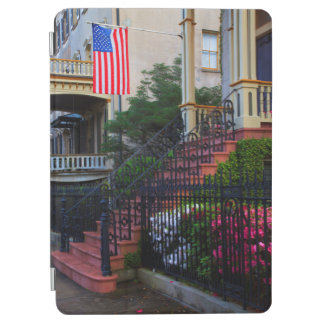 House in the Historic District in the spring iPad Air Cover