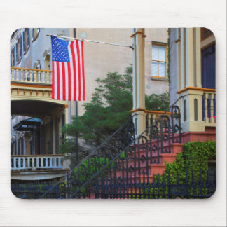 House in the Historic District in the spring Mouse Mat
