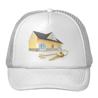 house-keys-real-estate-realty-security1 trucker hat