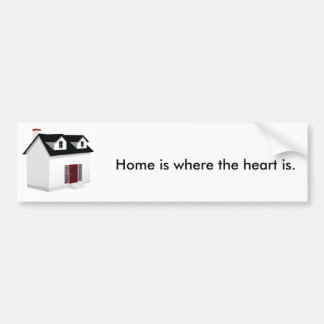 House (Little Home) Bumper Sticker