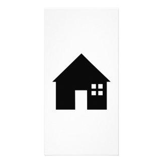 House logo photo cards