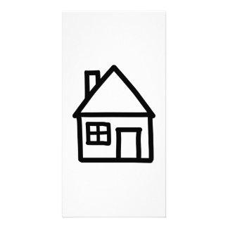 House logo photo card