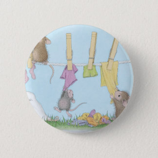 House-Mouse Designs® 6 Cm Round Badge