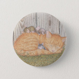 House-Mouse Designs® - 6 Cm Round Badge