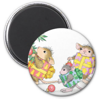 House-Mouse Designs® 6 Cm Round Magnet