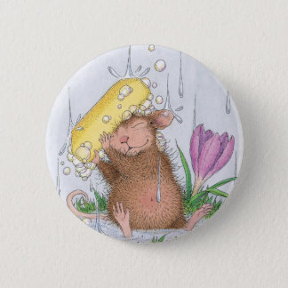 House-Mouse Designs® -  Good Clean Fun 6 Cm Round Badge