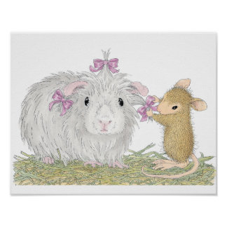 House-Mouse Designs® - Gorgeous Guinea Poster