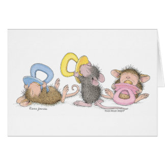 House-Mouse Designs® Greeting Card