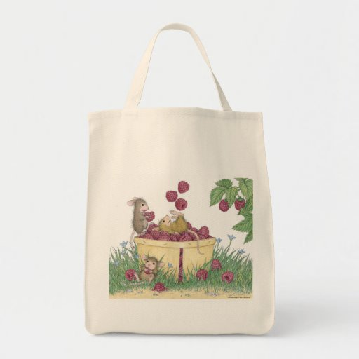 House-Mouse Designs® -  Grocery Tote Canvas Bag
