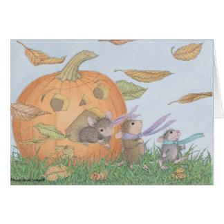 House-Mouse Designs® - Halloween Notecards Card