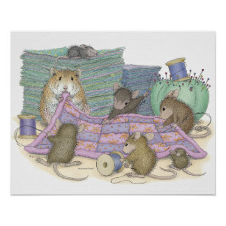 House-Mouse Designs® - Quilting Guild Poster