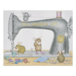 House-Mouse Designs® - Sewing Poster