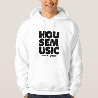 HOUSE MUSIC Hoodie (White)