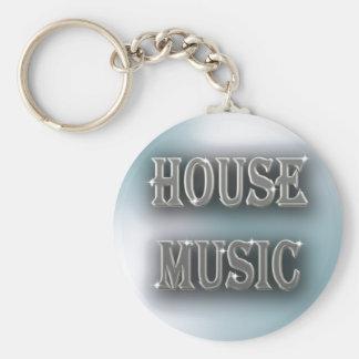 House Music Key Ring