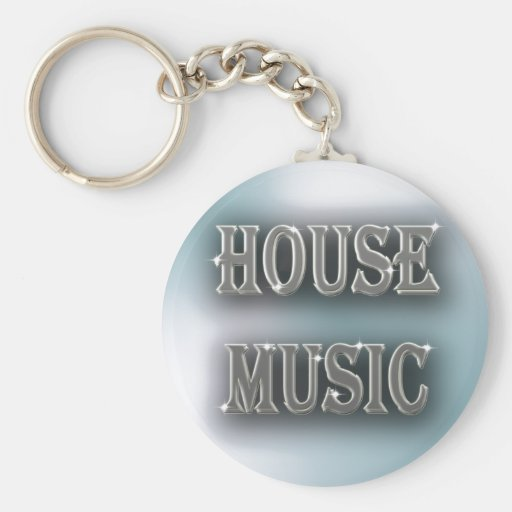 House Music Key Chains