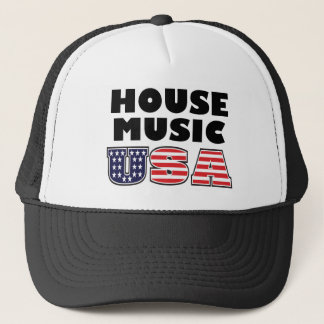 House Music USA Hat
