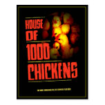 HOUSE Of 1000 CHICKENS Postcards