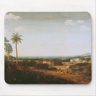 House of a Portuguese Nobleman in Brazil Mouse Mat