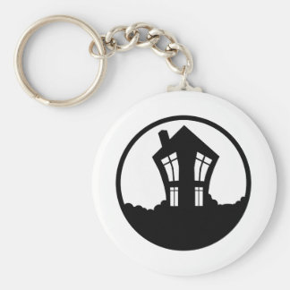 House of Geekery Merchandise Basic Round Button Key Ring