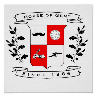 House of Gent Official Wall Decoration Poster