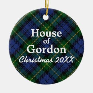 House of Gordon Scottish Tartan Christmas Ornament
