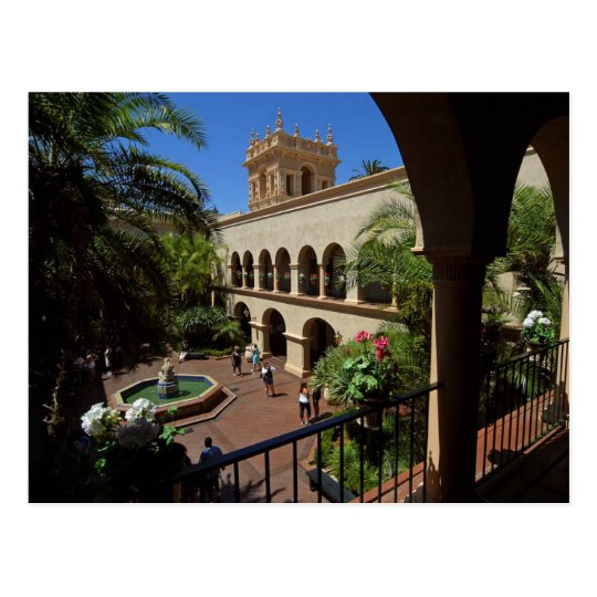House Of Hospitality In Balboa Park Postcard