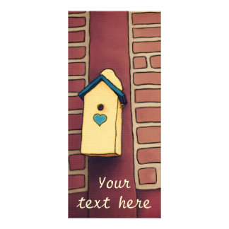House Of Love, customizable rack card