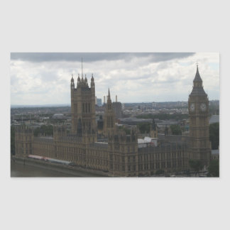House of Parliament in London Sticker
