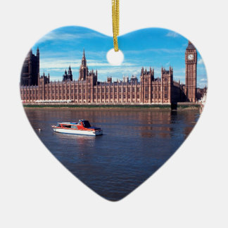 House of Parliament , London Christmas Ornament
