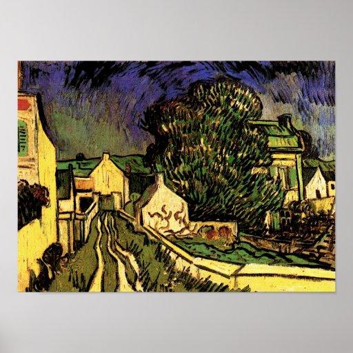 House of Pere Pilon, Van Gogh Fine Art Poster