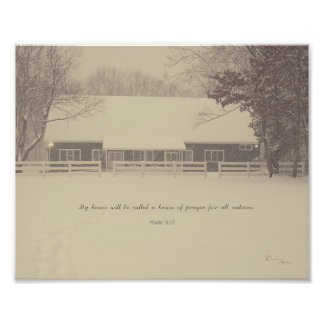 House of Prayer Photo Print
