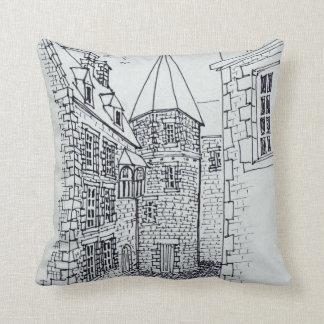 House of Princess Anne of Brittany | Saint-Malo Cushion
