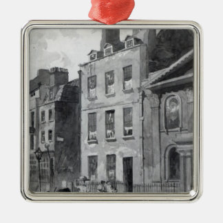 House of Sir Isaac Newton Christmas Ornament