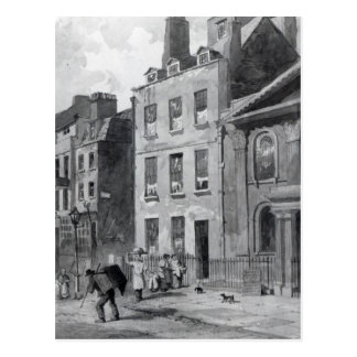 House of Sir Isaac Newton Postcard